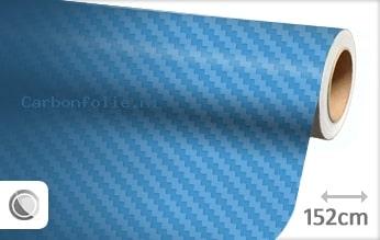 Babyblauw 3D carbon folie