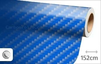 Blauw 2D carbonfolie