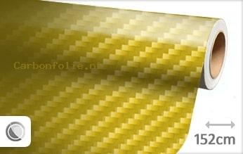 Geel 2D carbonfolie