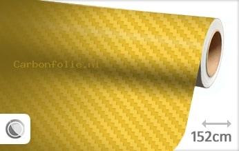 Geel 3D carbon folie