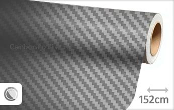 Grijs 3D carbon folie
