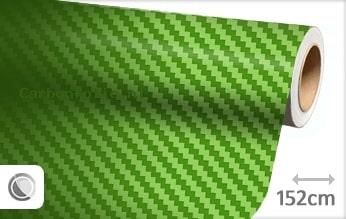 Groen 3D carbon folie