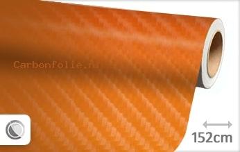 Oranje 4D carbonfolie