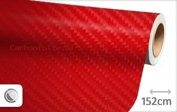 Rood 4D carbonfolie