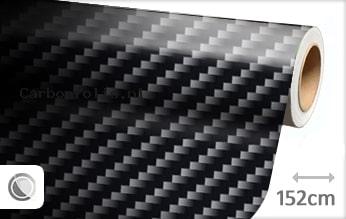 Zwart 2D carbonfolie