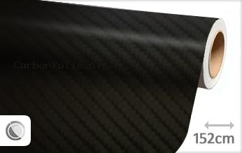 Zwart 4D carbonfolie